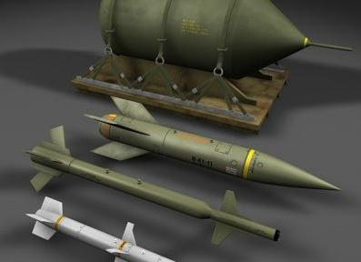 钻地弹由GPS为其制导 弹头材料通常为钨合金