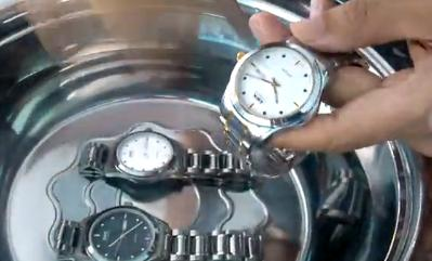 Tungsten steel watches automatic mechanical