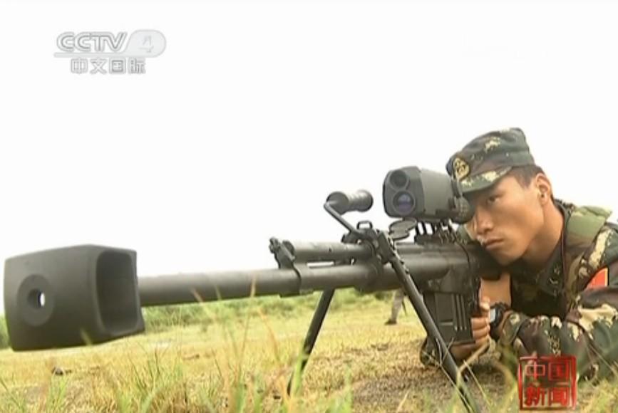 国产10式大口径反器材狙击步枪