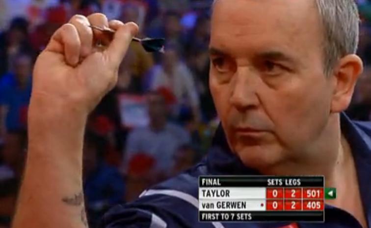 2013 PDC 世界飞镖锦标赛 总决赛 Taylor v van Gerwen