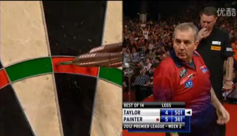 2012 Darts League Darts Phil Taylor 9