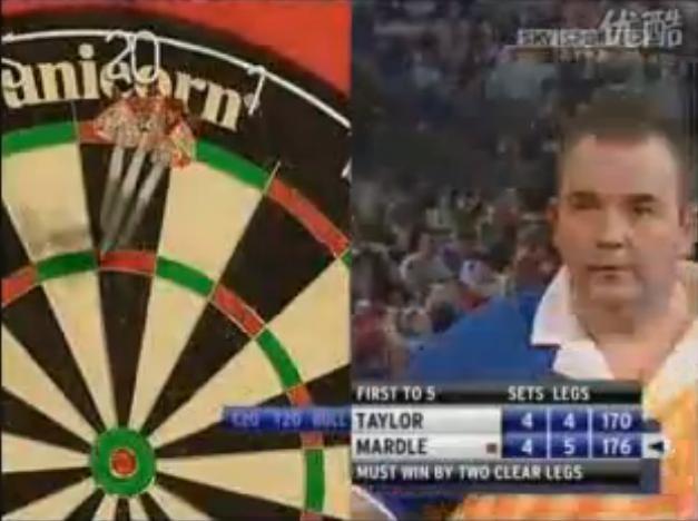 World Darts Championship with Phil Taylor Wayne