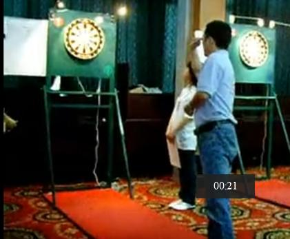May 24, 2008 the national game of darts fragment (Zhoushan)
