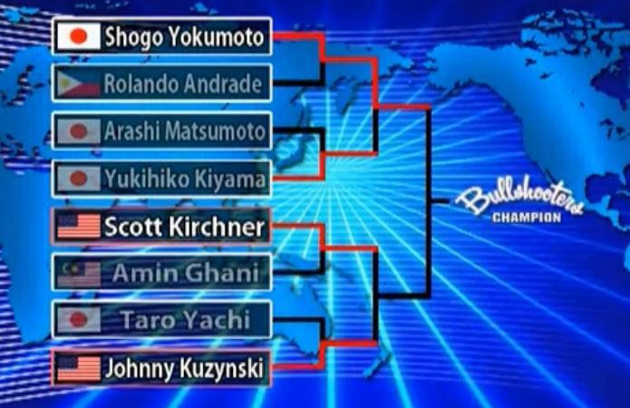 Bullshooter国际软式飞镖大赛半决赛Scott vs Johnny