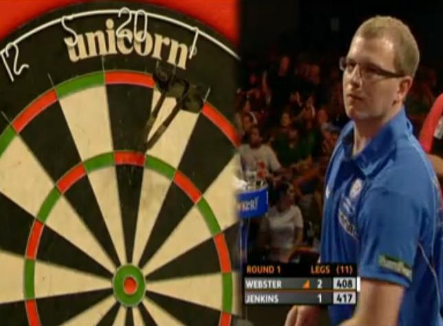 2011欧洲飞镖锦标赛第一轮Webster v Jenkins