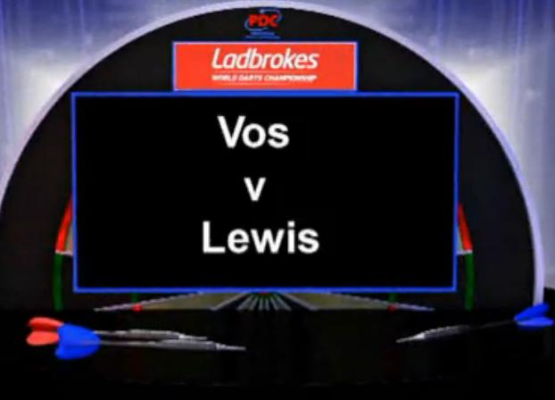 点击观看《2013 World Darts Championship first round Lewis vs Vos》