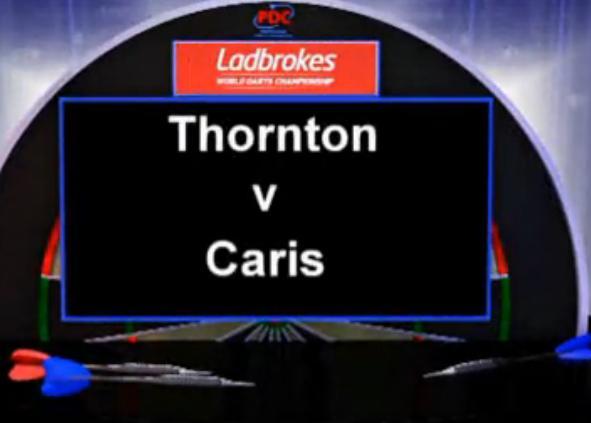 点击观看《2013 世界飞镖锦标赛 第一轮 Thornton vs Caris》