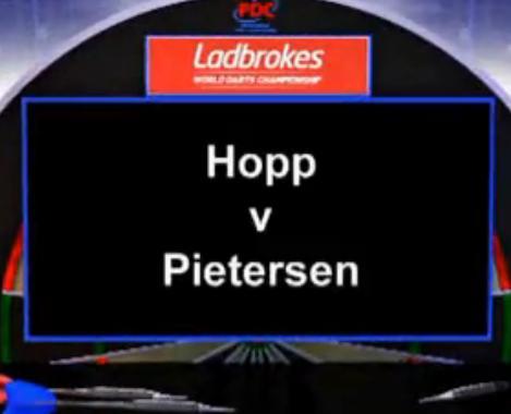 2013 世界飞镖锦标赛 第一轮 Hopp vs Pietersen