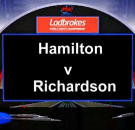 点击观看《2013 World Darts Championship first round of the Hamilton vs Richardson》