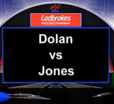 2013 世界飞镖锦标赛 第一轮 Dolan vs M Jones