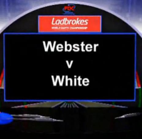 点击观看《2013 世界飞镖锦标赛 第一轮M Webster vs White》