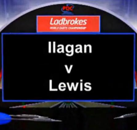 2013 World Darts Championship first round Ilagan vs Lewis