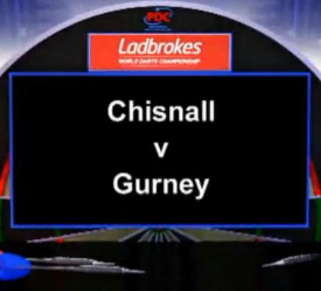 点击观看《2013 世界飞镖锦标赛 第二轮 Chisnall vs Gurney》