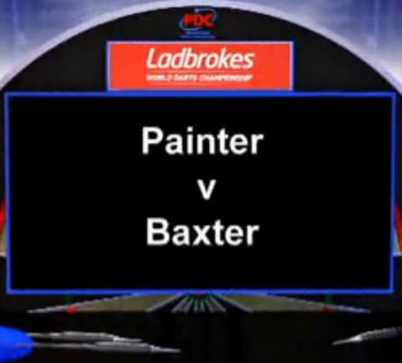 2013 World Darts Championship second round Painter vs Baxter