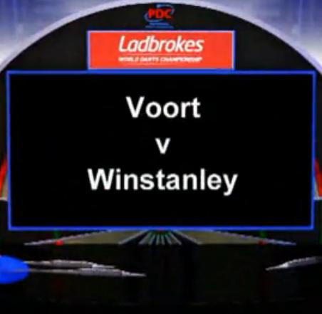 2013 World Darts Championship second round van der Voort vs Winstanley