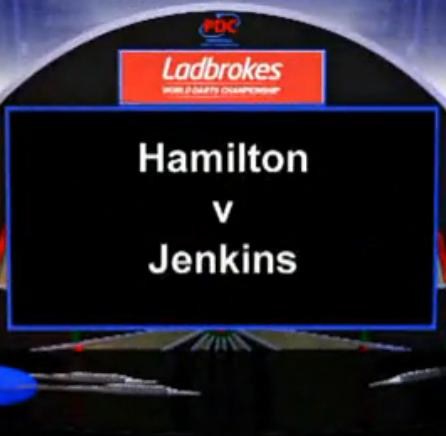 点击观看《2013 World Darts Championship third round of the Hamilton vs T Jenkins》