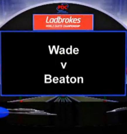 2013 世界飞镖锦标赛 第二轮 Wade vs Beaton