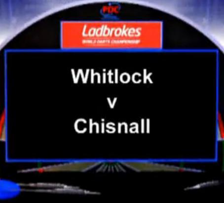 2013 世界飞镖锦标赛 第三轮 Whitlock vs Chisnall