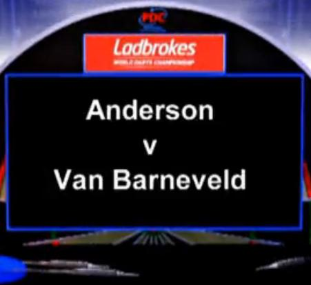 2013 世界锦标赛 第三轮 Anderson vs Van Barneveld