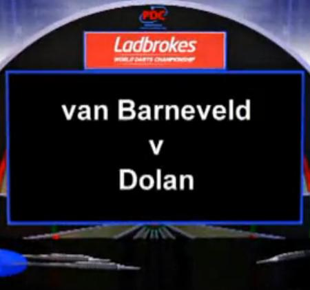 2013 World Darts Championship second round van Barneveld vs Dolan