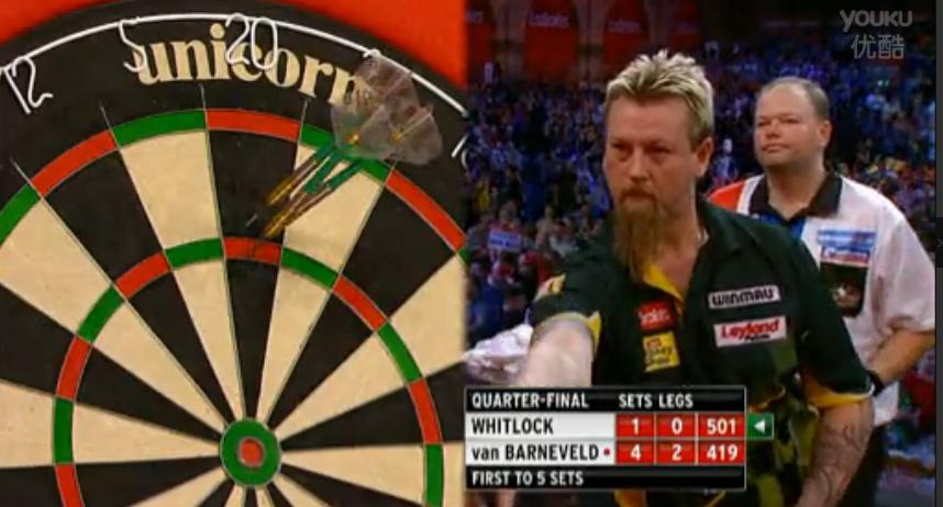 2013 World Darts Championship quarterfinals Whitlock vs Barneveld