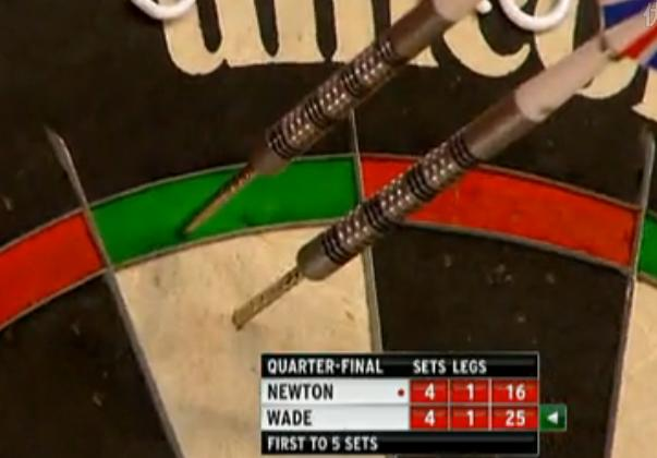 2013 World Darts Championship quarterfinals Wade vs Newton