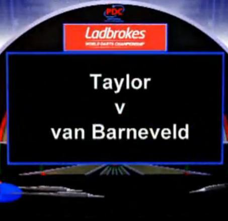 点击观看《2013 PDC 世界飞镖锦标赛 二分之一决赛 Taylor vs Van Barneveld》