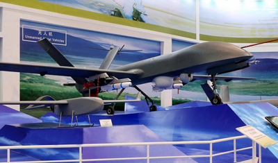 点击观看《China Rainbow UAV debut Beijing International Airshow》