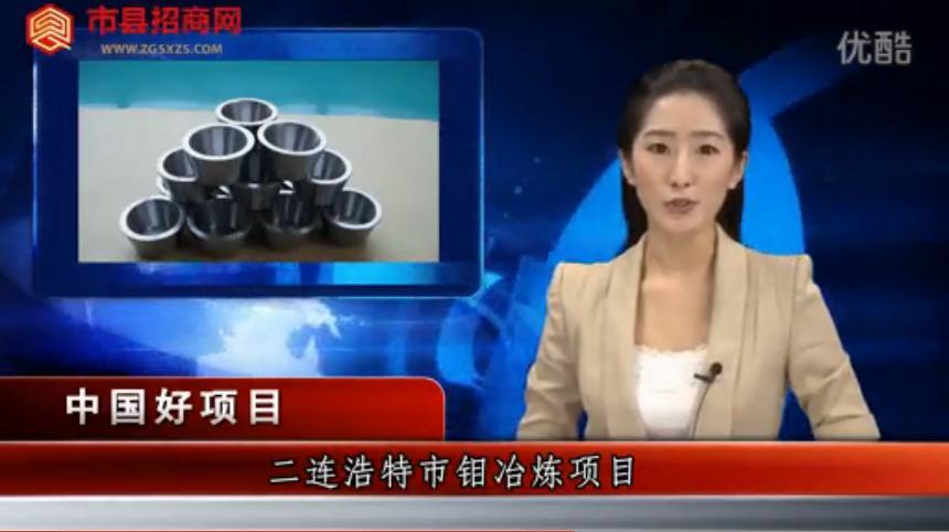 点击观看《中国好项目 二连浩特市钼冶炼项目》