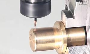 钨钢涂层铣刀加工