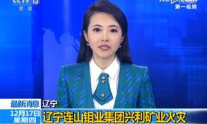 辽宁连山钼业集团兴利矿业火灾