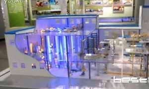 核燃料铀纯化转化工业流程模型