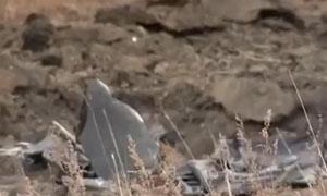 疑似UFO坠落俄罗斯西伯利亚 残骸为有色金属