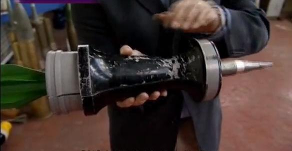 Armor piercing Discarding Sabot tungsten core