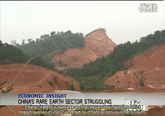 Chinese Rare Earth Industry Is Struggling