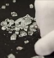 Tungsten Rings broken glass