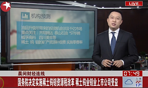 点击观看《Implementation of resource tax reform of the state council》