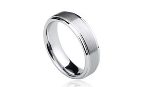 Never wear and tear-Tungsten ring